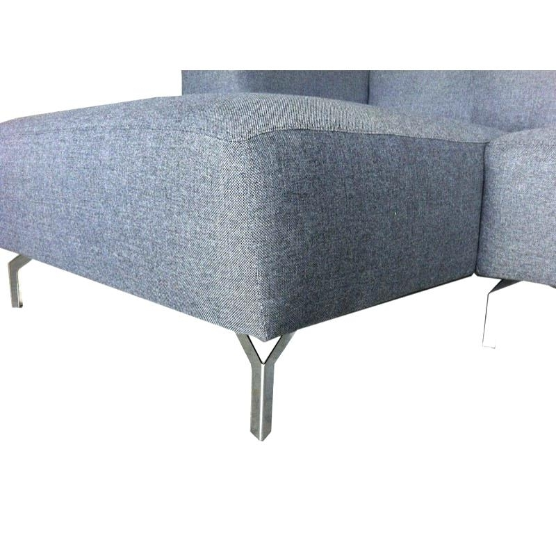 Angled Chaise Sofas Inside Best And Newest Chaise D Angle Corner Sofa Design Right Side 4 Seater With Chaise (View 4 of 15)