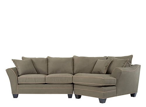 2019 Latest Angled Chaise Sofas