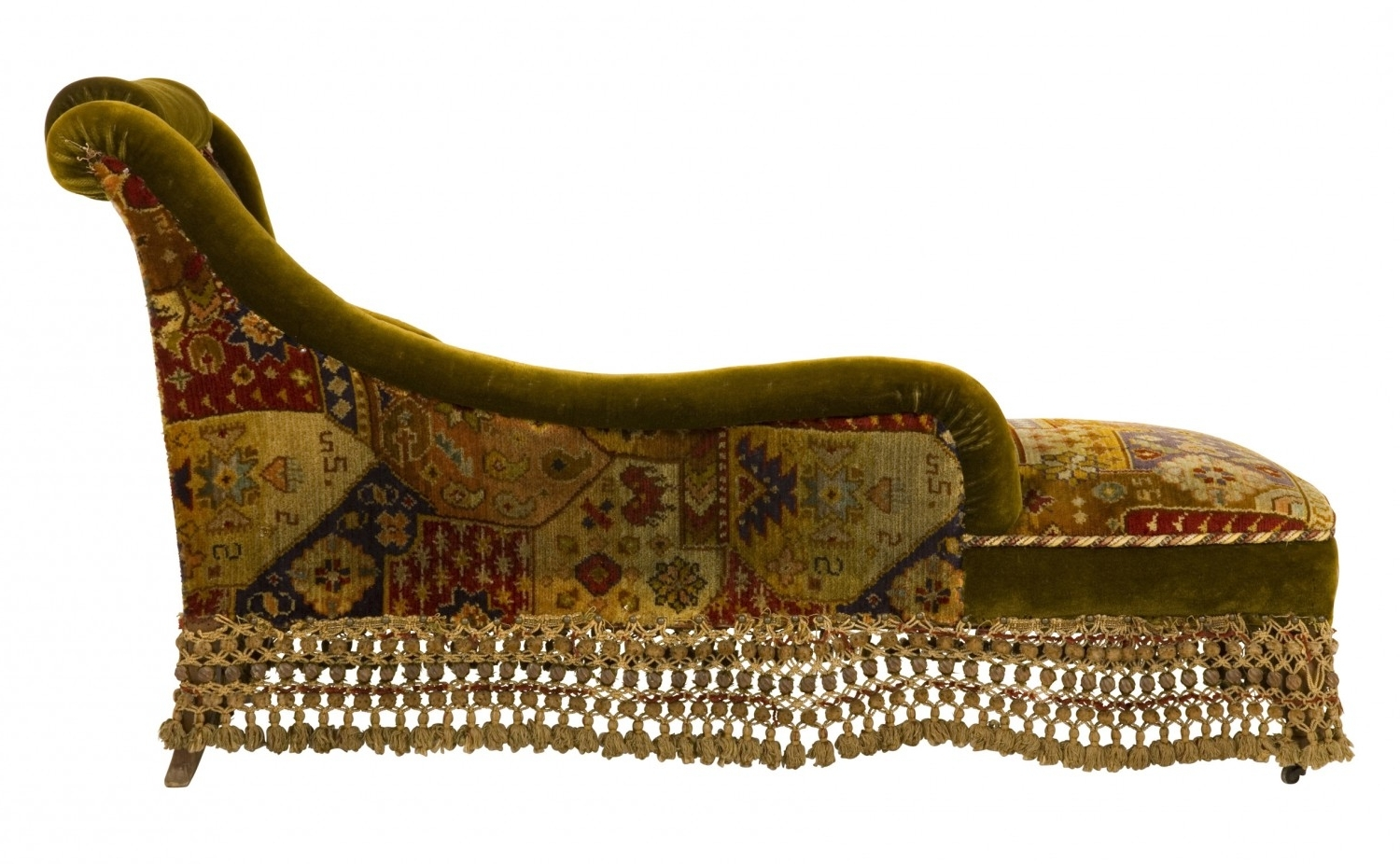 Antique Chaise Lounge (View 2 of 15)