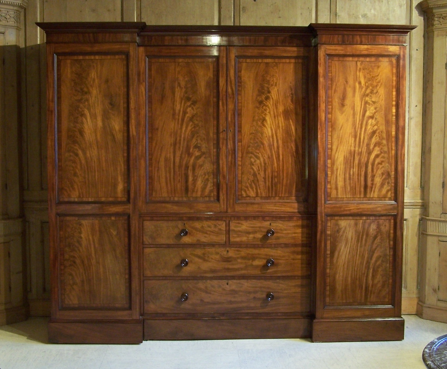 Antique Regency Gillows Wardrobe (View 2 of 15)