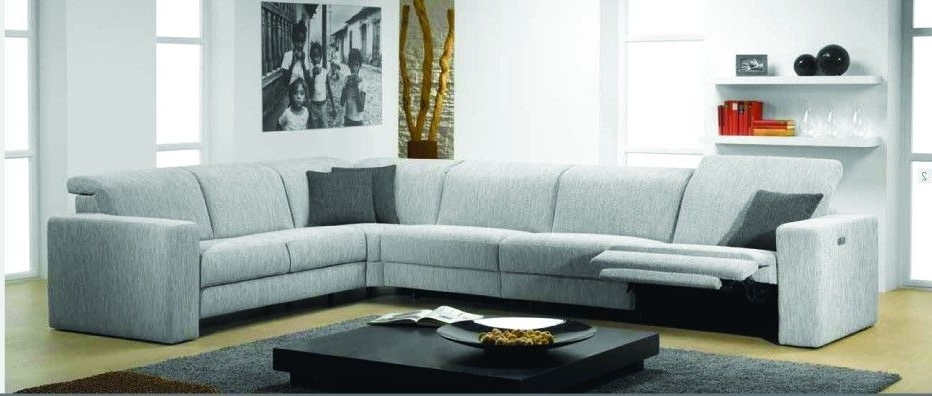 Artemis Fabric Sectional Sofa With Electric Reclinerrom Throughout Most Recently Released Sectional Sofas With Electric Recliners (View 4 of 10)