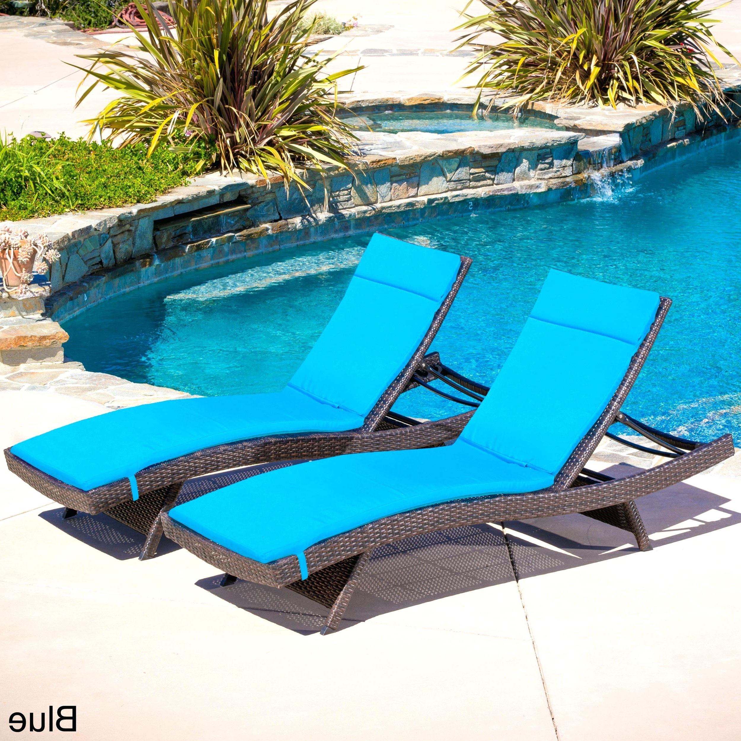Articles With Navy Blue Outdoor Chaise Lounge Tag Interesting Best Regarding Most Recent Pool Chaises (View 1 of 15)