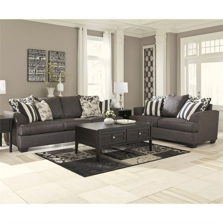Ashley Tufted Sofas For Recent Ashley Furniture Tufted Sofa Sofas Awesome In And Loveseat Plans  (View 4 of 10)