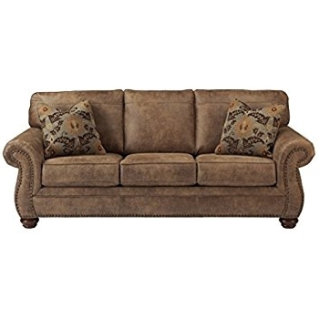 Ashley Tufted Sofas Inside Famous Amazon: Ashley Furniture Signature Design – Larkinhurst Sofa (View 5 of 10)