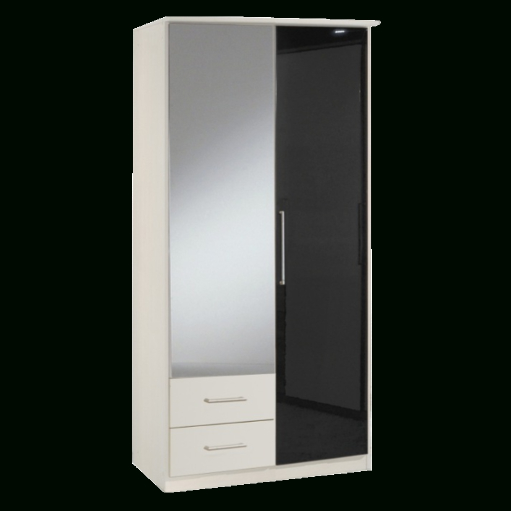 Astonishing Berlin Door Corner Wardrobe Set High Gloss Black And Regarding Current Black And White Wardrobes Set (View 2 of 15)
