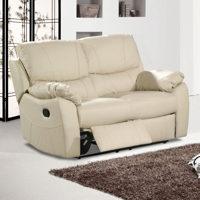 Awesome Leather Sofa 2 Seater Recliner Catosfera Net With Two Seat With Latest 2 Seat Recliner Sofas (View 8 of 15)