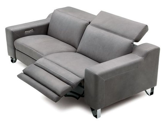 Baily Reclining Leather Sofa Interested In This Item? Call 412 434 Within Popular Modern Reclining Leather Sofas (View 1 of 10)
