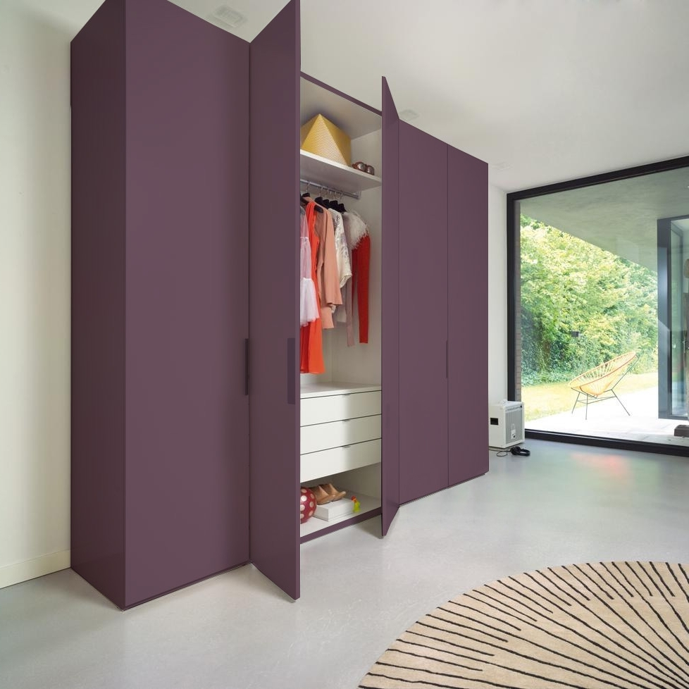 Featured Photo of Coloured Wardrobes