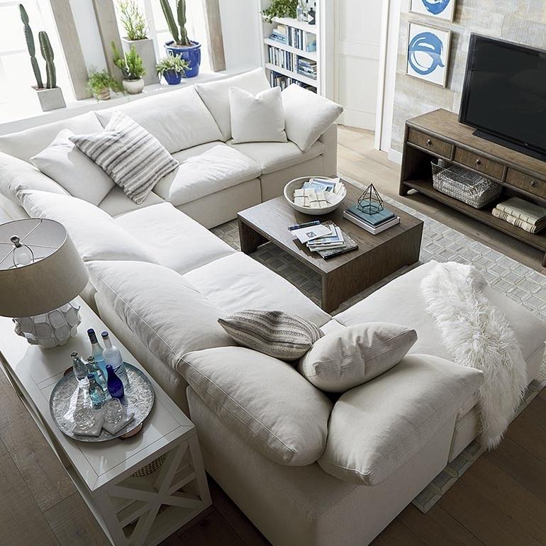 Bassett Home Furnishings Regarding Gray U Shaped Sectionals (View 5 of 10)