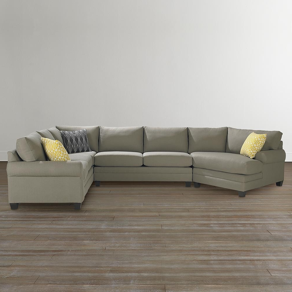 Bassett Home Furnishings With Regard To Most Up To Date Sectional Sofas With Cuddler Chaise (View 2 of 15)