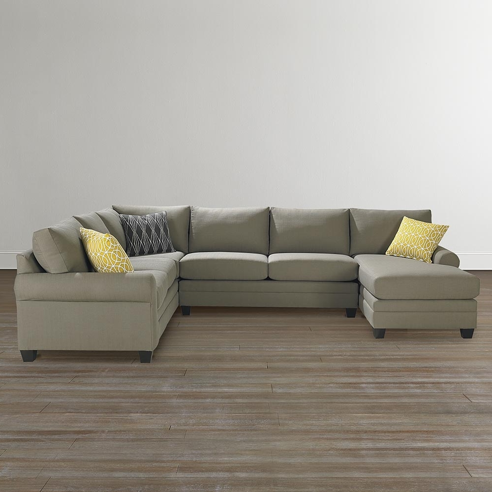 Bassett Home Furnishings With Regard To Newest Dual Chaise Sectionals (View 3 of 15)