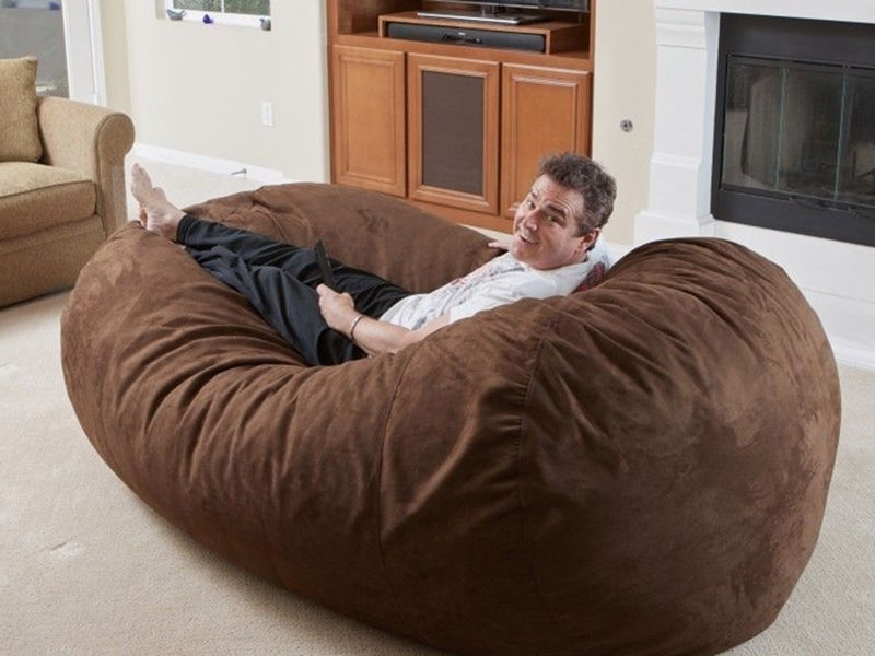 Bean Bag Bed, Bean Bags And Beans With Regard To Trendy Bean Bag Sofas And Chairs (View 1 of 10)