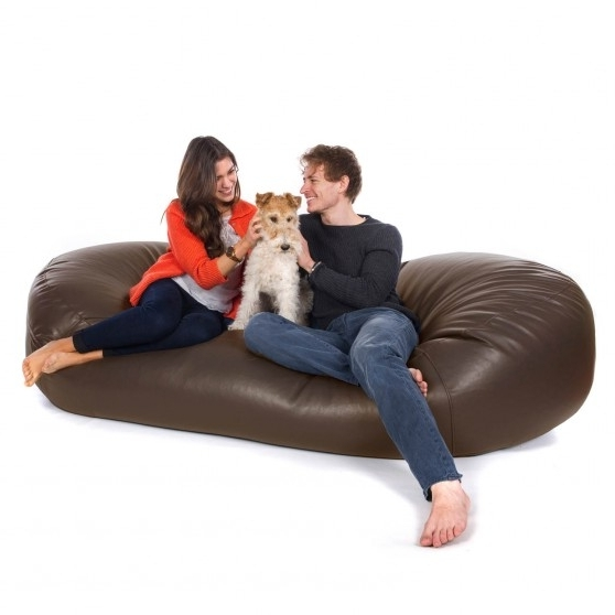 Bean Bag Sofas From Greatbeanbags™ In Bean Bag Sofas (View 9 of 10)