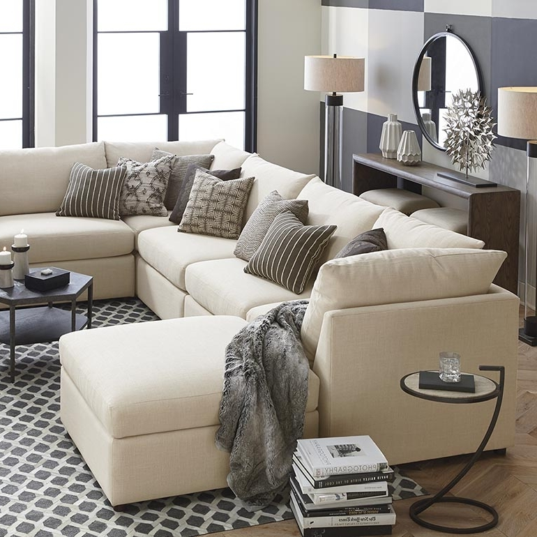 Beckham Custom Upholstered U Shaped Sectional (View 2 of 10)