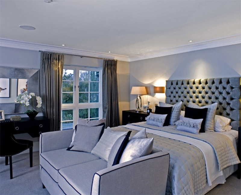 Bedroom Sofas Throughout 2017 Lovely Bedroom Interiors With Sofas And Couches – Full Home Living (View 3 of 10)