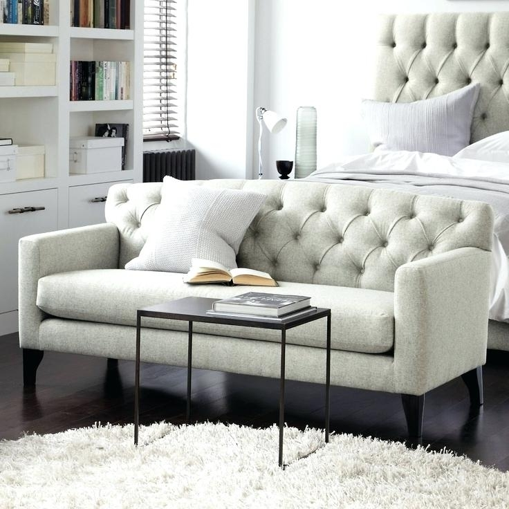 Bedroom Sofas Within 2017 Sofas In Bedroom – Parhouse (View 5 of 10)