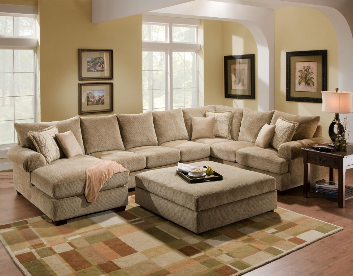 Beige Sectionals With Chaise Regarding Current Small Bedroom Ideas Ikea 16 Apartment Size Leather Sofa Apartment (View 10 of 15)