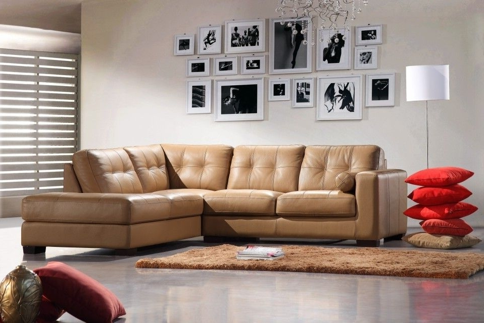 Bella Italia In Camel Sectional Sofas (View 7 of 10)