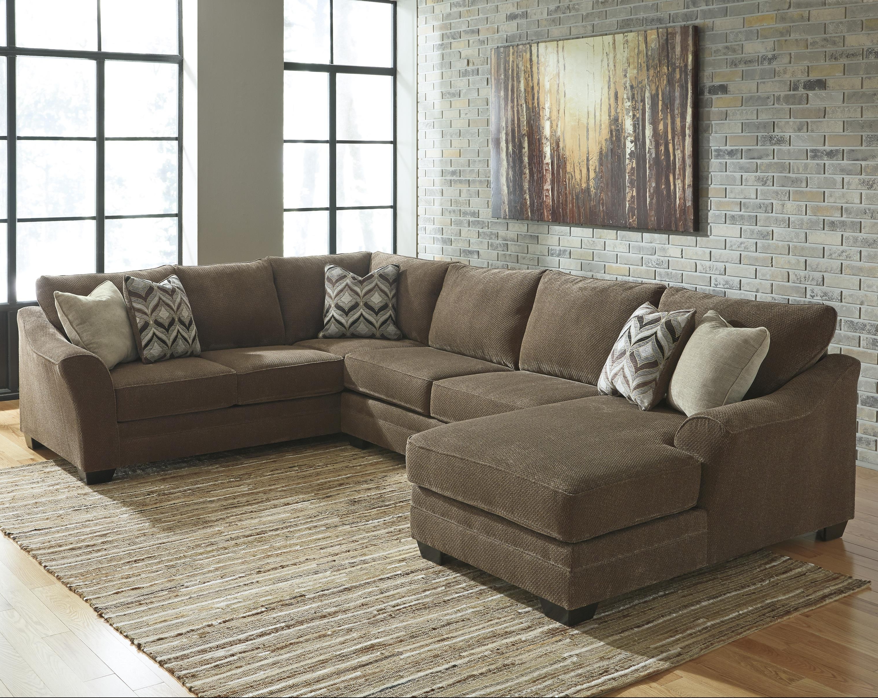 the ash danely enlarge to sofa product furniture with click ashley classy home sectional polyester chaise dusk