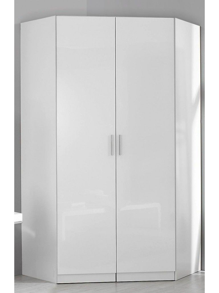 Best And Newest 2 Door Corner Wardrobes Pertaining To Rauch Celle 2 Door Corner Wardrobe Available With Gloss Fronts (View 3 of 15)