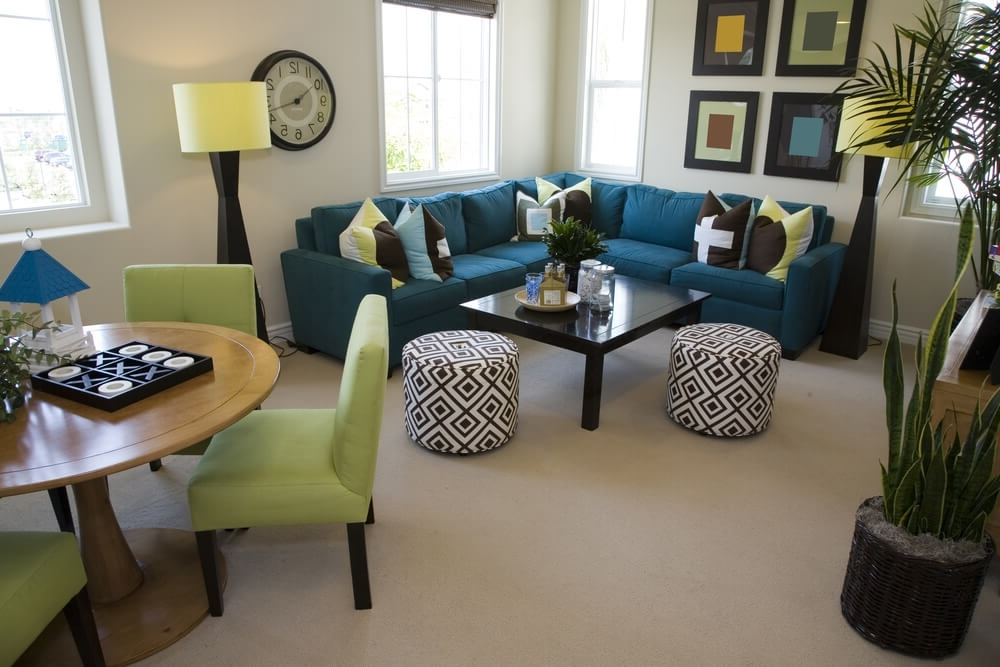 Best And Newest 75 Modern Sectional Sofas For Small Spaces (2018) Inside Sectional Sofas In Small Spaces (View 3 of 10)