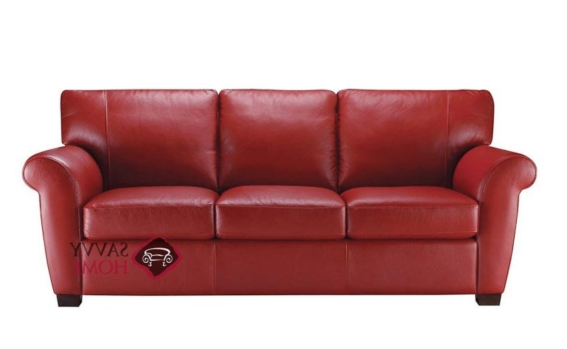Best And Newest Allaro (A121) Leather Sofanatuzzi Is Fully Customizableyou With Red Leather Sofas (View 1 of 10)