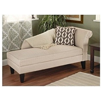 Best And Newest Amazon: Skyline Furniture Tufted Chaise Lounge In Light Gray With Lounge Sofas And Chairs (View 1 of 10)