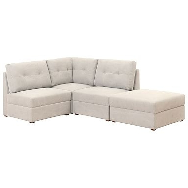 Best And Newest Armless Sectional Sofa (View 4 of 10)