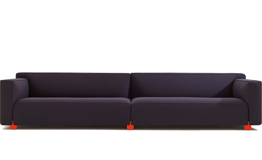 Best And Newest Barber Osgerby Four Seat Sofa – Hivemodern For Four Seater Sofas (View 2 of 10)
