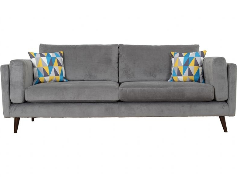 Best And Newest Bianca Extra Large 4 Seater Fabric Sofa – Lee Longlands With Regard To Large 4 Seater Sofas (View 3 of 10)