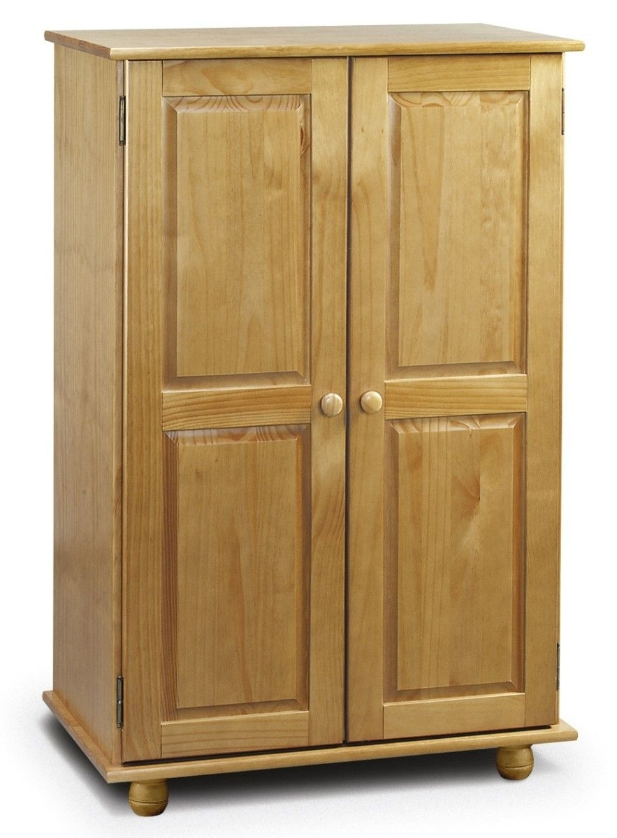 Best And Newest Cameo 2 Door Wardrobes Inside Pickwick Pine Childrens Short Wardrobe Sale Now On Your Price (View 2 of 15)