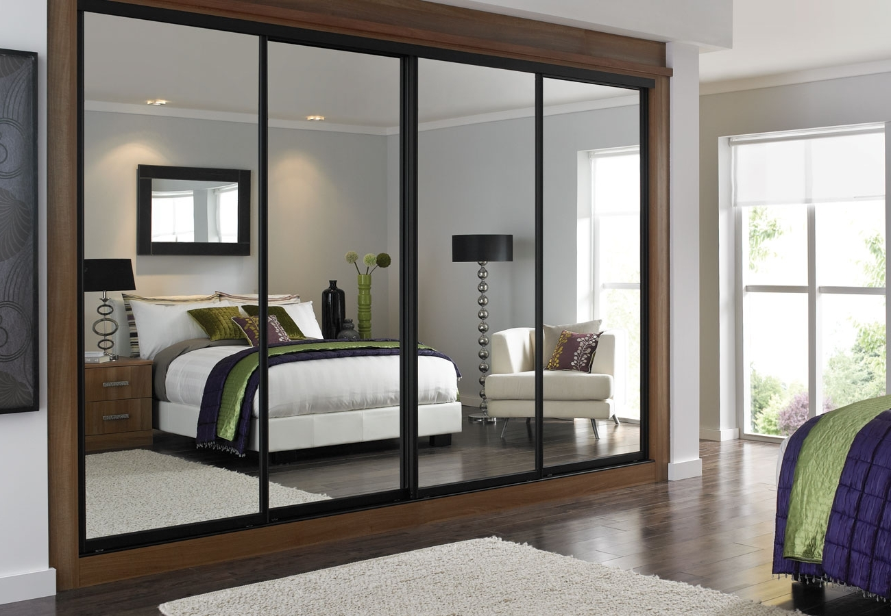 Best And Newest Cheap Wardrobes With Mirrors With Sliding Wardrobes – White Glass Angled (View 4 of 15)