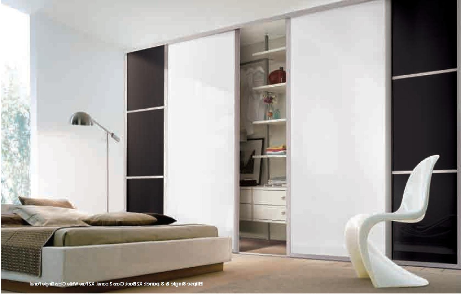 Best And Newest Coloured Glass Sliding Wardrobe Doors – Sliding Wardrobe World Within Coloured Wardrobes (View 4 of 15)