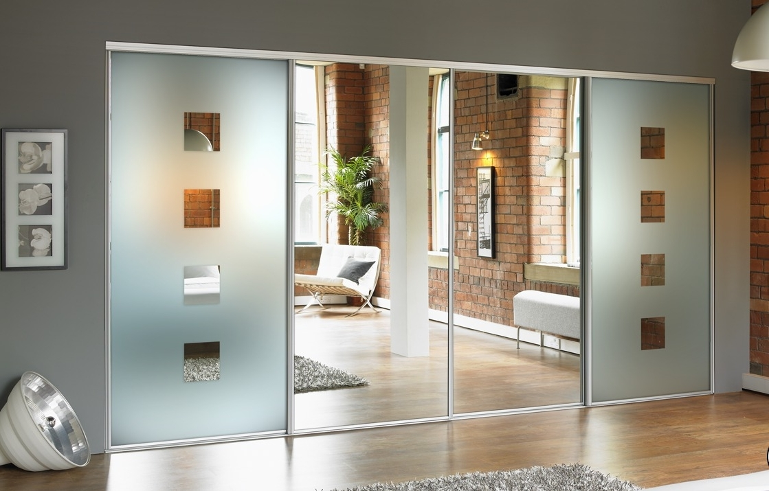 Best And Newest Coloured Wardrobes Within Mirror Design Ideas: Designing Sliding Mirror Doors For Wardrobe (View 11 of 15)