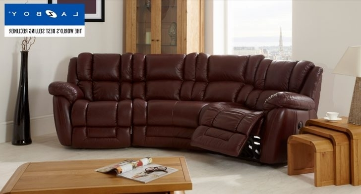 Best And Newest Curved Recliner Sofas Regarding Curved Sectional Sofa With Recliner (View 3 of 10)