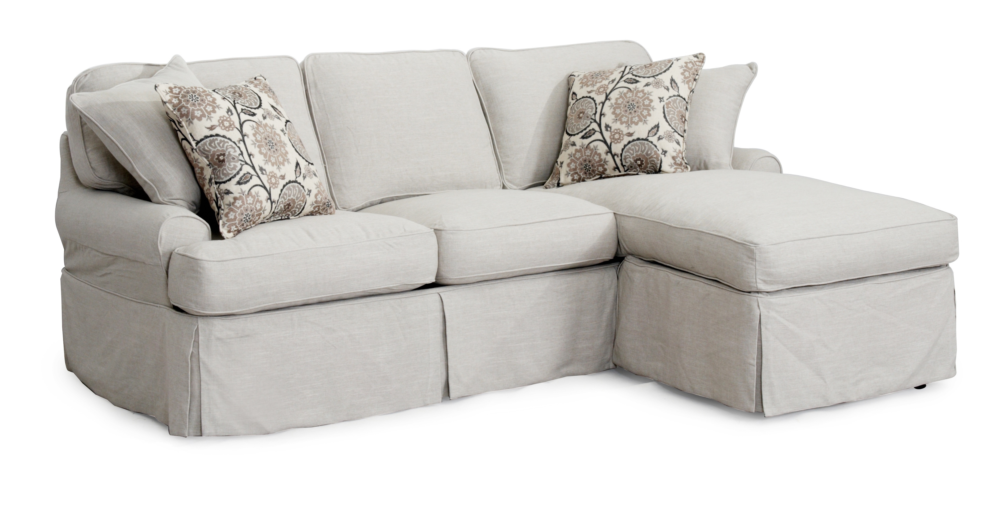 Best And Newest Decorating Interesting Walmart Slipcovers For Living Room Grey Inside Grey Sofa Chaises (View 2 of 15)