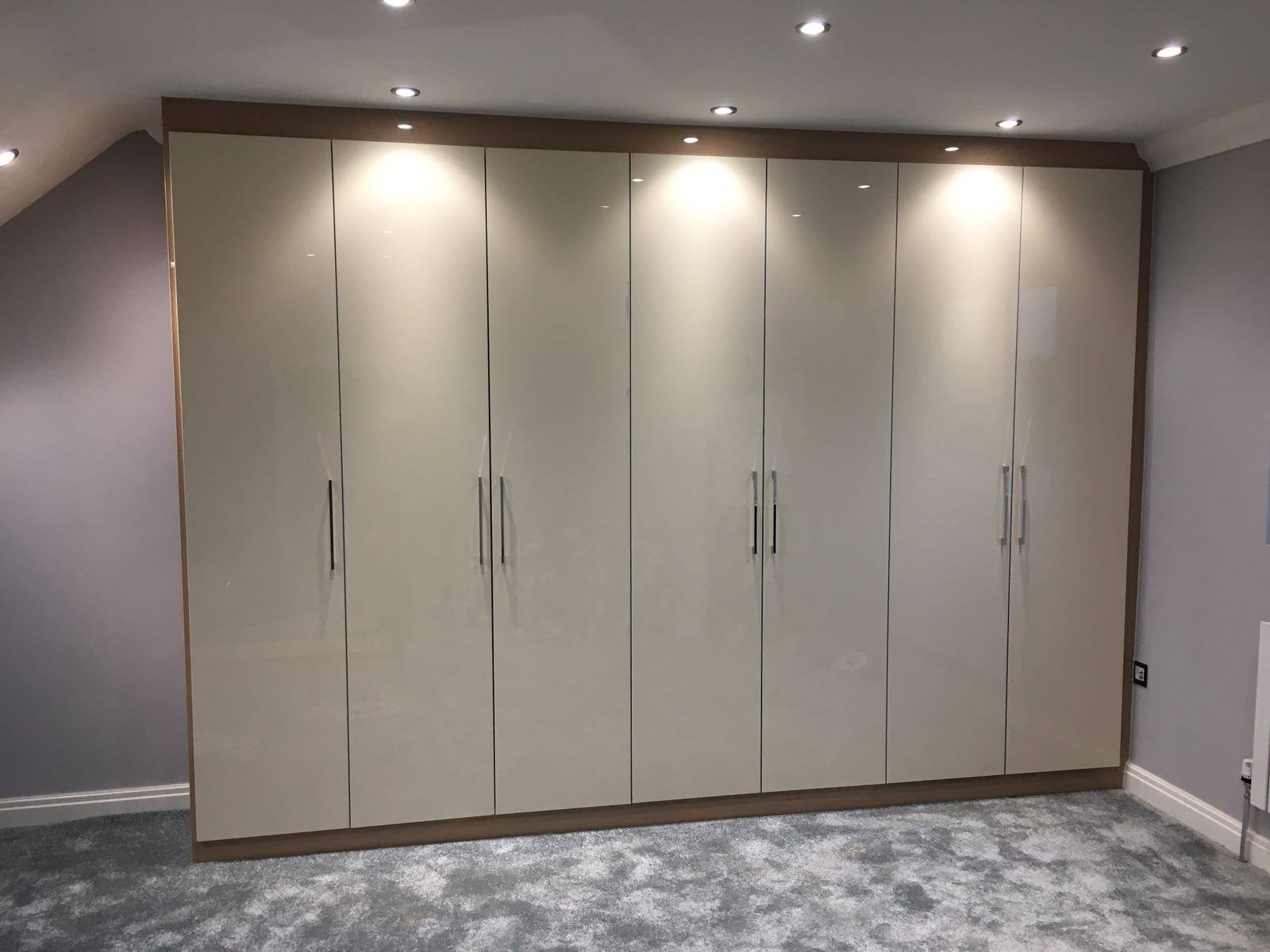 Best And Newest Fitted Wardrobes, Sliding Wardrobes, Built In Wardrobes, Walk In Inside Glossy Wardrobes (View 2 of 15)