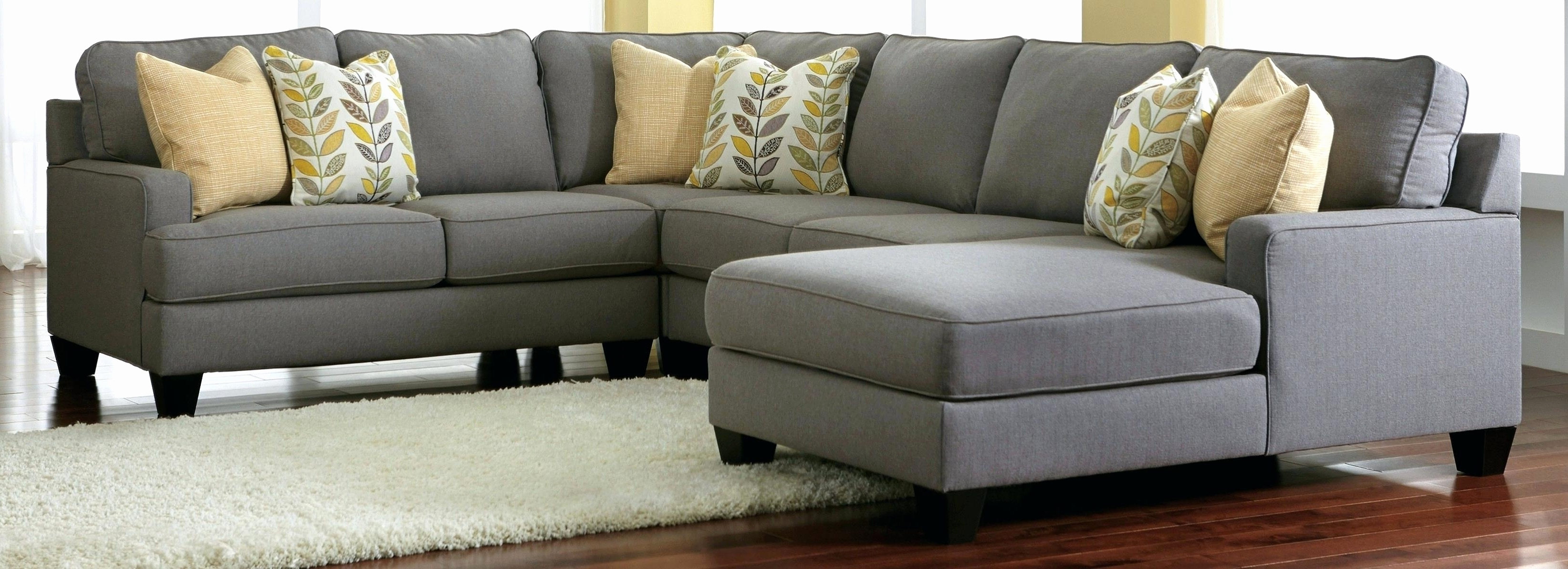 Best And Newest Grey Sectional Sofas With Chaise Pertaining To New Charcoal Grey Sectional Sofa With Chaise 2018 – Couches And (View 1 of 15)