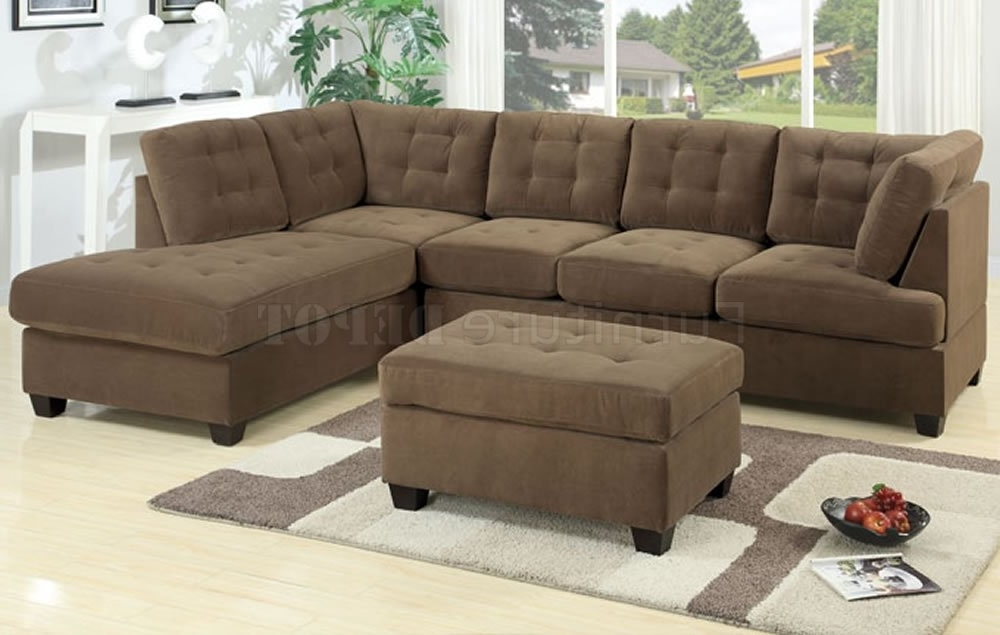 Best And Newest Leather Sectionals With Chaise And Ottoman For 17 Large Sofa Sectionals (View 7 of 10)