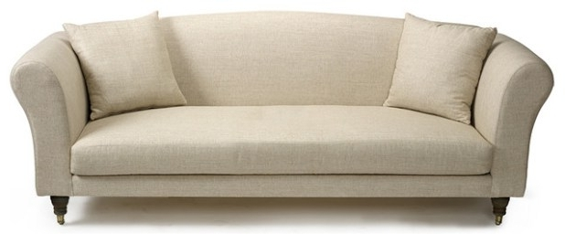 Best And Newest One Cushion Couch Single Cushion Chair Long Cream Comfortable With Regard To One Cushion Sofas (View 6 of 10)