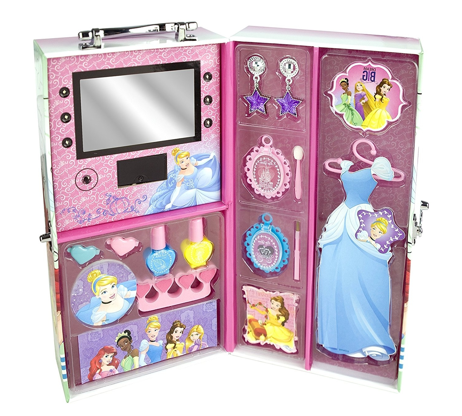 Best And Newest Princess Wardrobes Intended For Disney Princess Dress To Impress Princess Beauty Wardrobe: Amazon (View 3 of 15)
