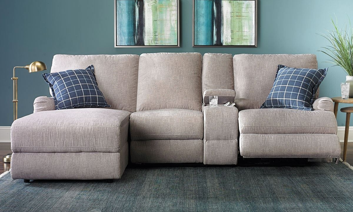 Best And Newest Reclining Chaises In Alton Power Reclining Sectional Sofa With Chaise (View 2 of 15)