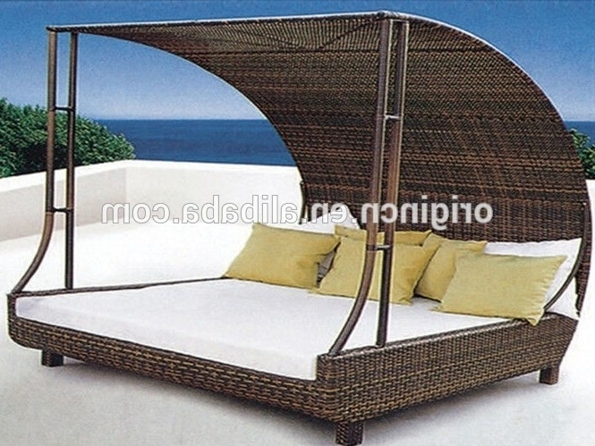 Big Lots Balcony Sleeping Sun Fun Ratan Furniture Hotel Outdoor In Well Known Outdoor Sofas With Canopy (View 9 of 10)