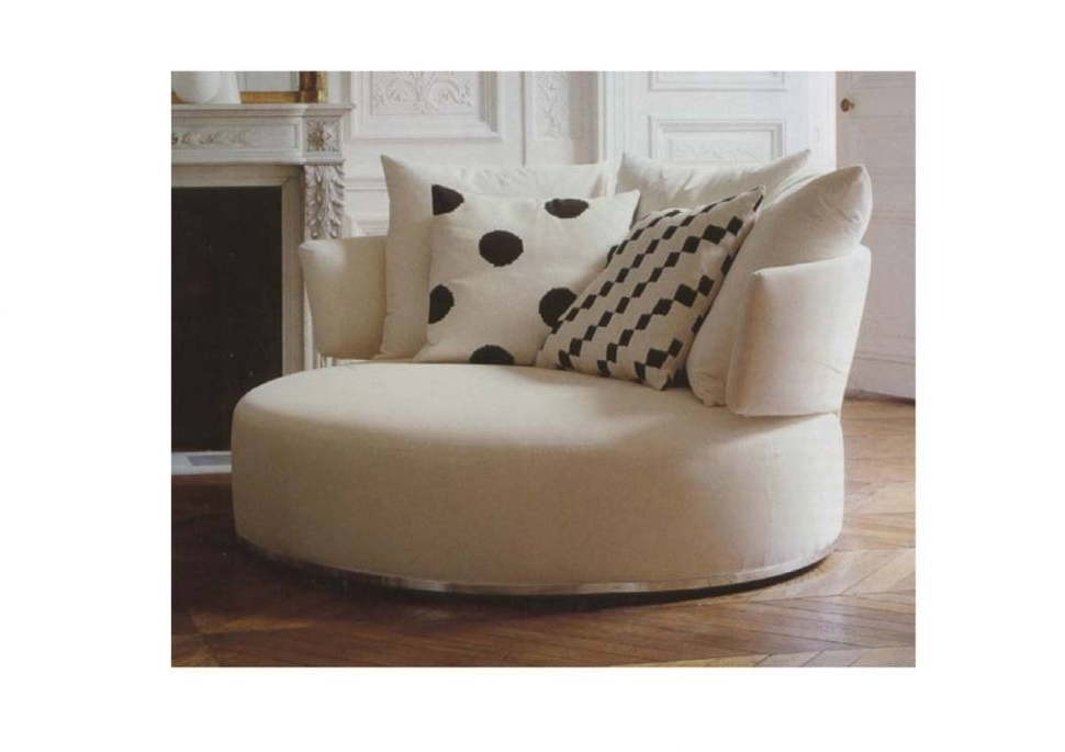 Big Round Sofa Chairs With Regard To Well Known Sofa : Endearing Round Sofa Chair Round Sofa Chair Round Sofa (View 7 of 10)