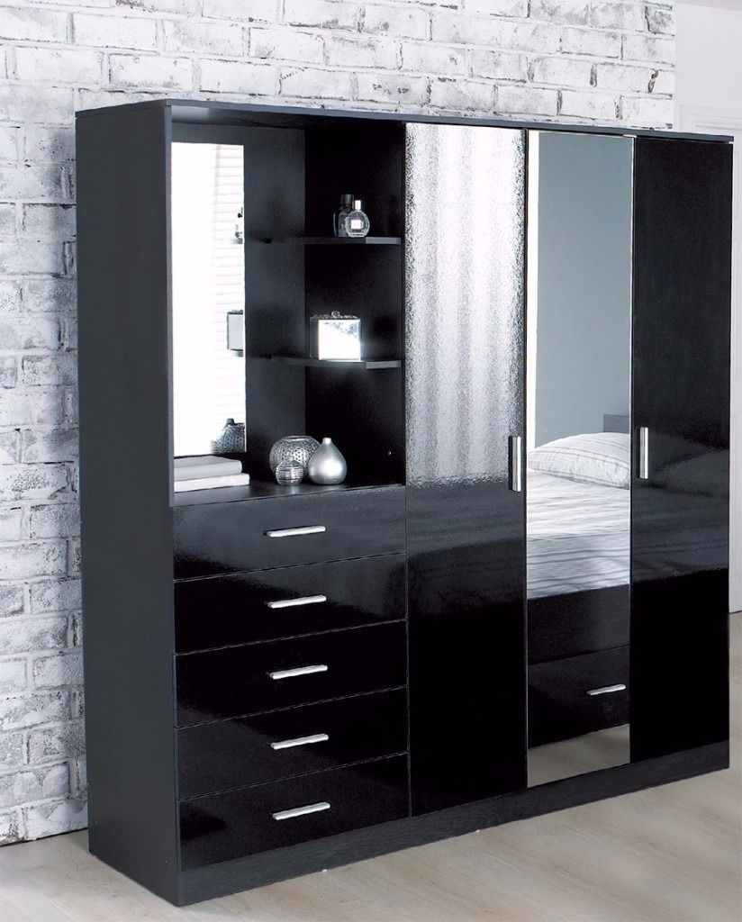 Big Sale !!brand New Combi Combination Unit Wardrobe Chest In Well Liked Wardrobes And Dressing Tables (View 12 of 15)