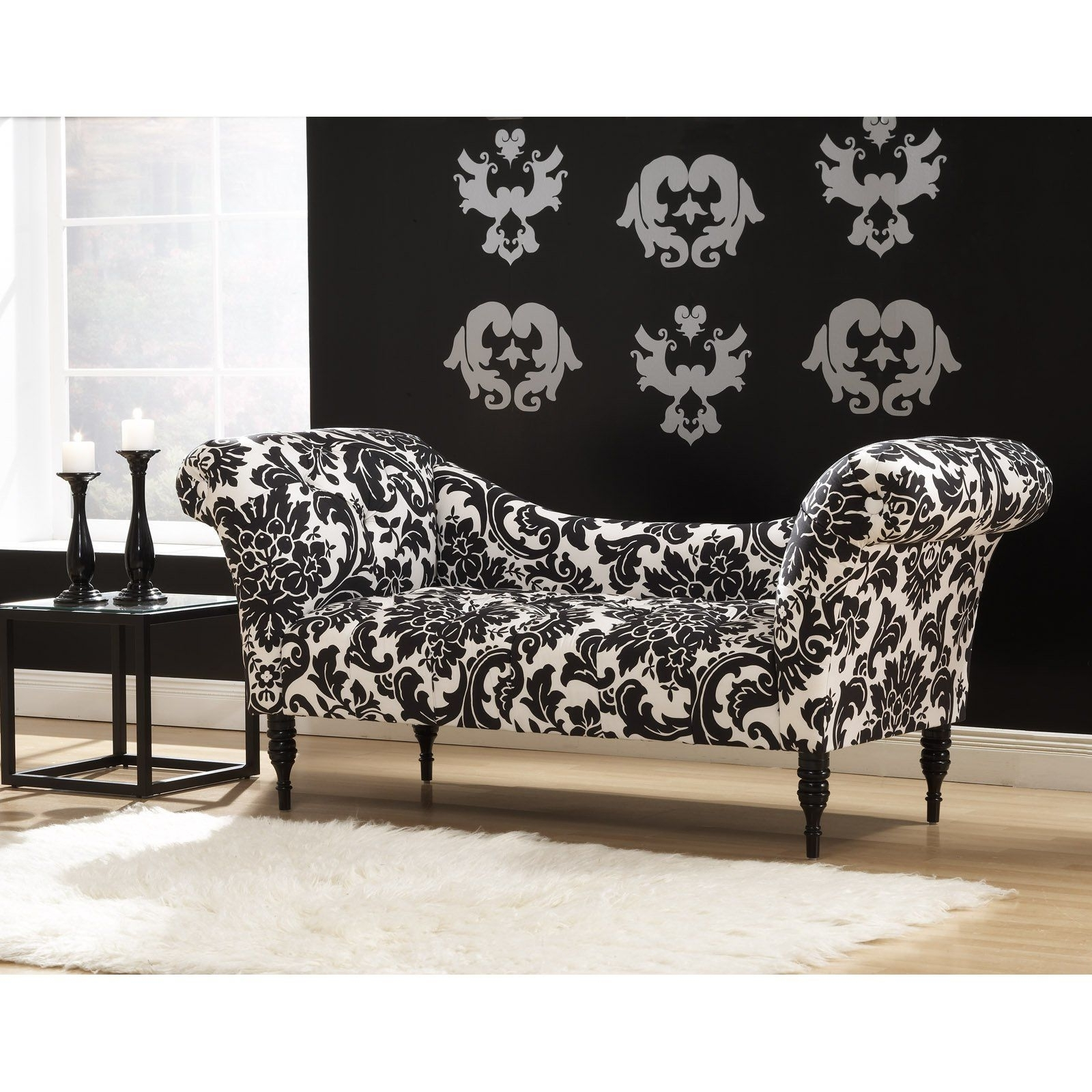 Black And White Chaise Lounge Chair • Lounge Chairs Ideas In Well Known Black Indoors Chaise Lounge Chairs (View 9 of 15)