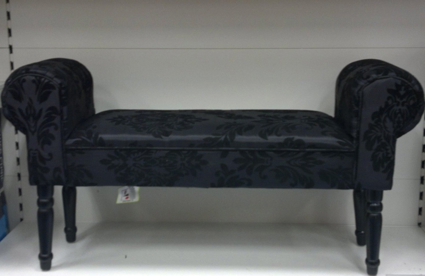 Black Damask Chaise Longue: Amazon.co (View 4 of 15)