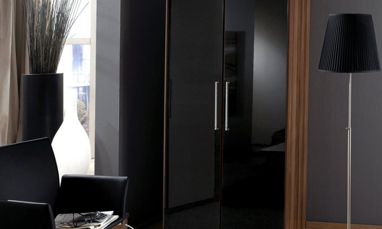 Black Gloss Wardrobes Inside Popular Attractive Black Wardrobes Argos #2 Full Size Of Wardrobe:fabulous (View 3 of 15)