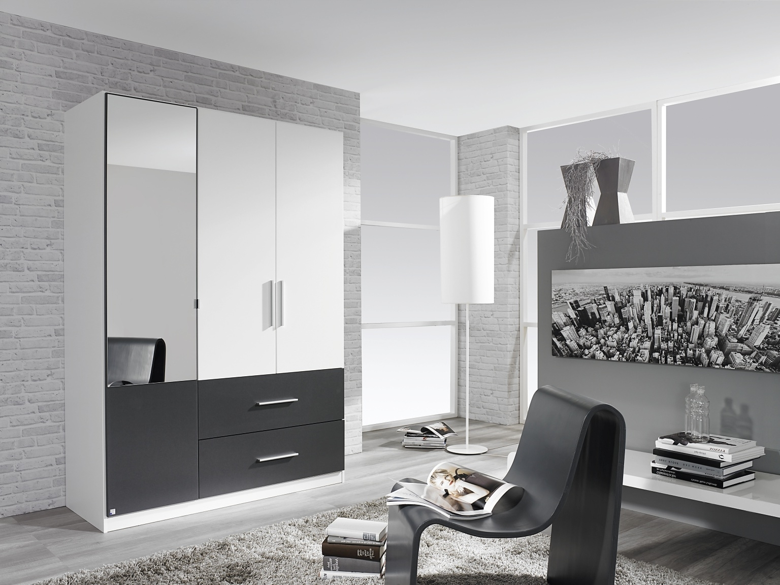 Black Shiny Wardrobes Throughout Current Hinged Wardrobes (View 7 of 15)