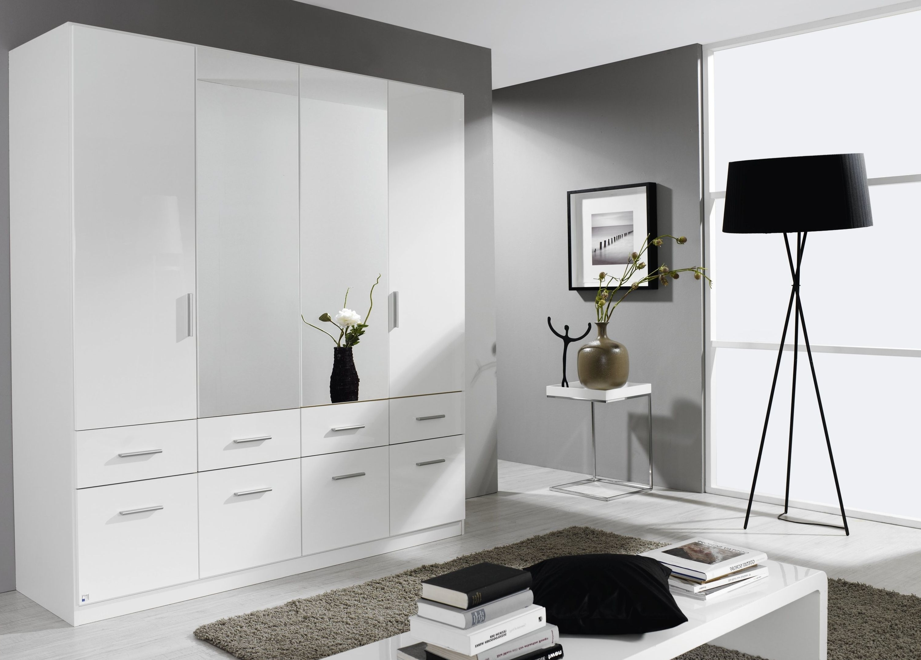 Black Wardrobes With Drawers Inside Widely Used Funky High Gloss Bedroom Furniture Design – Hgnv (View 13 of 15)